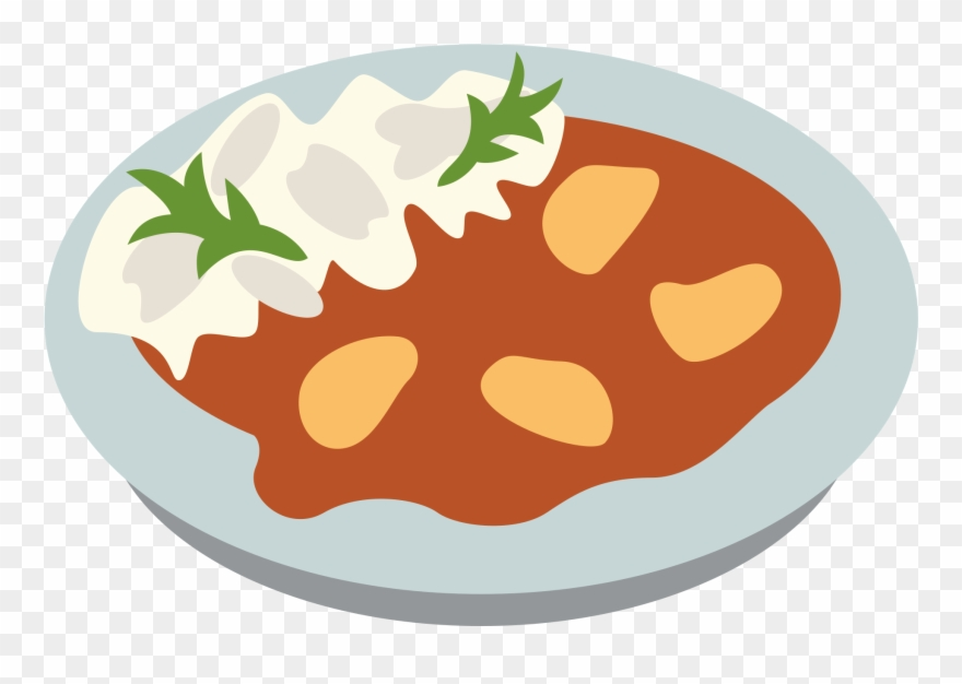 ملف - Emojione 1f35b - Svg - Curry Cartoon Food Clipart ... svg library library