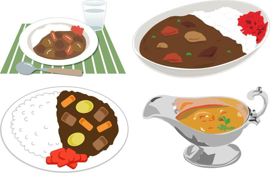 Download indian spicy curry clipart Indian cuisine Japanese ... clip royalty free