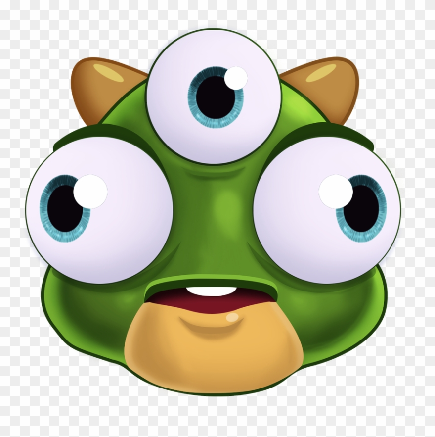 Cursed clipart svg royalty free Blocker Frobble 2 Open Eyes - Cursed Bubbles In Bubble Witch ... svg royalty free