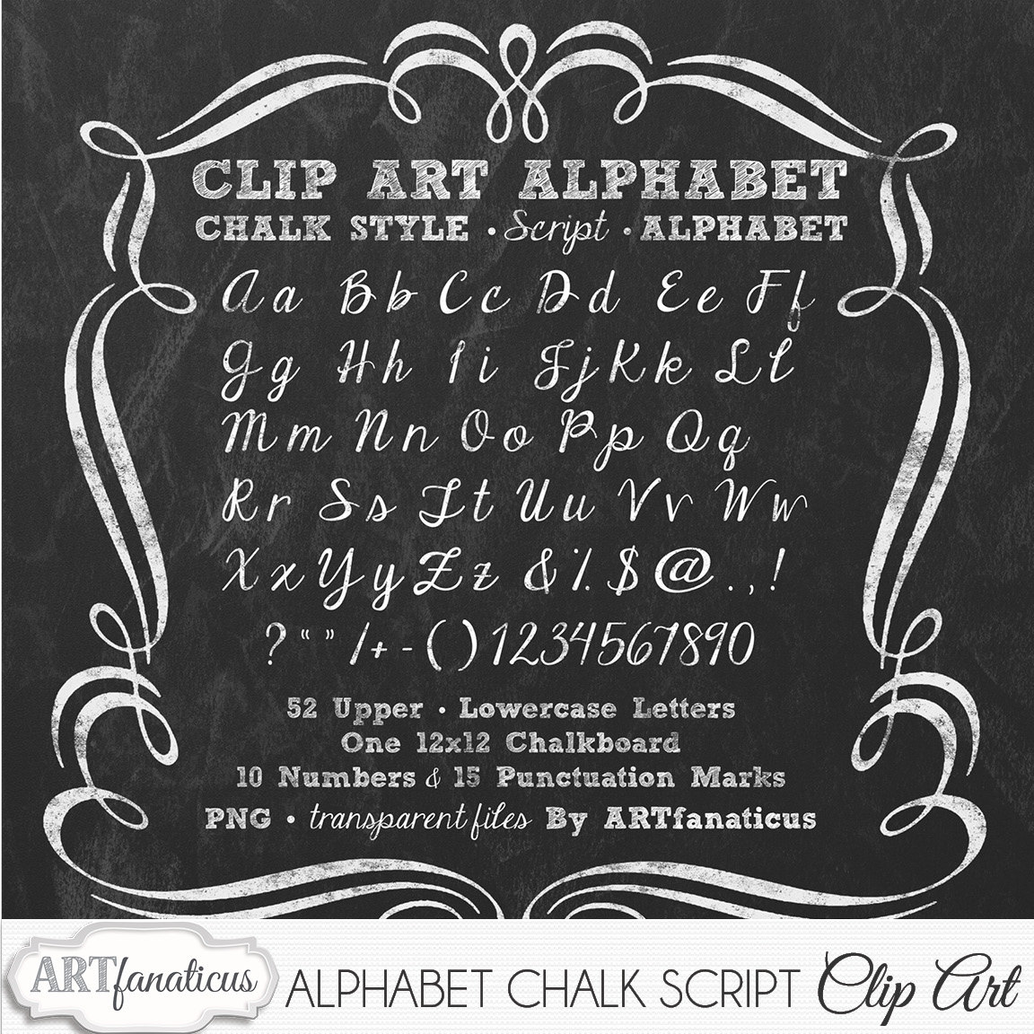 Cursive h lowercase clipart svg stock Chalkboard Clip Art ALPHABET CHALK SCRIPT 1 svg stock