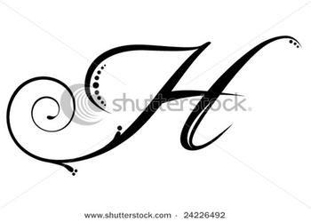 Cursive h lowercase clipart banner transparent Cursive Letter H - Laptuoso banner transparent