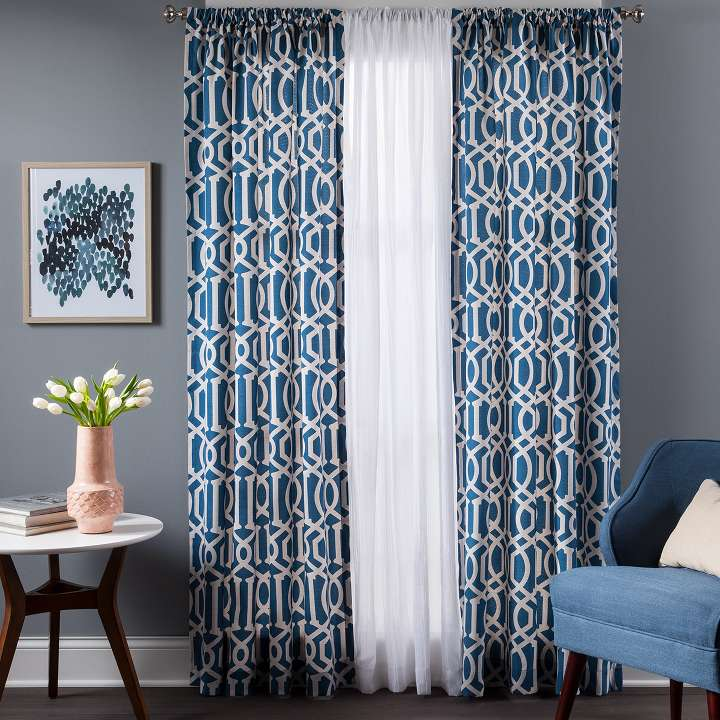 Curtains target graphic black and white download Curtains & Drapes : Target graphic black and white download