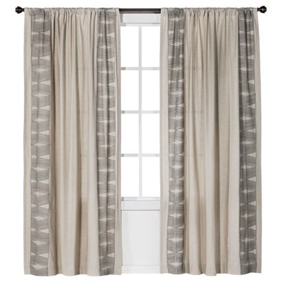 Curtains target jpg library Love the curtains - Target - Nate Berkus™ Embroidered Window Panel ... jpg library