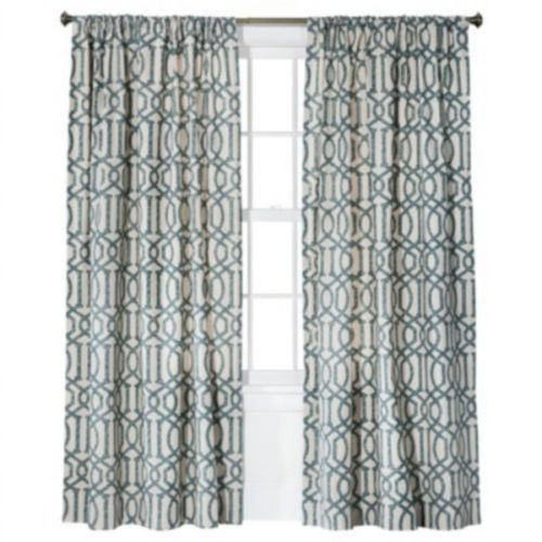 Curtains target picture Target Threshold Farrah Lattice Window Curtain Panel Geometric ... picture