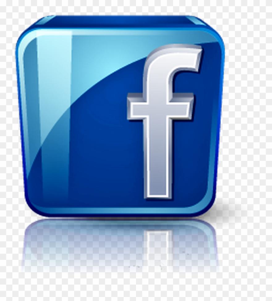 Logo de facebook clipart clip free Curtir Facebook Png - Logo De Facebook 3d Clipart (#4988788 ... clip free