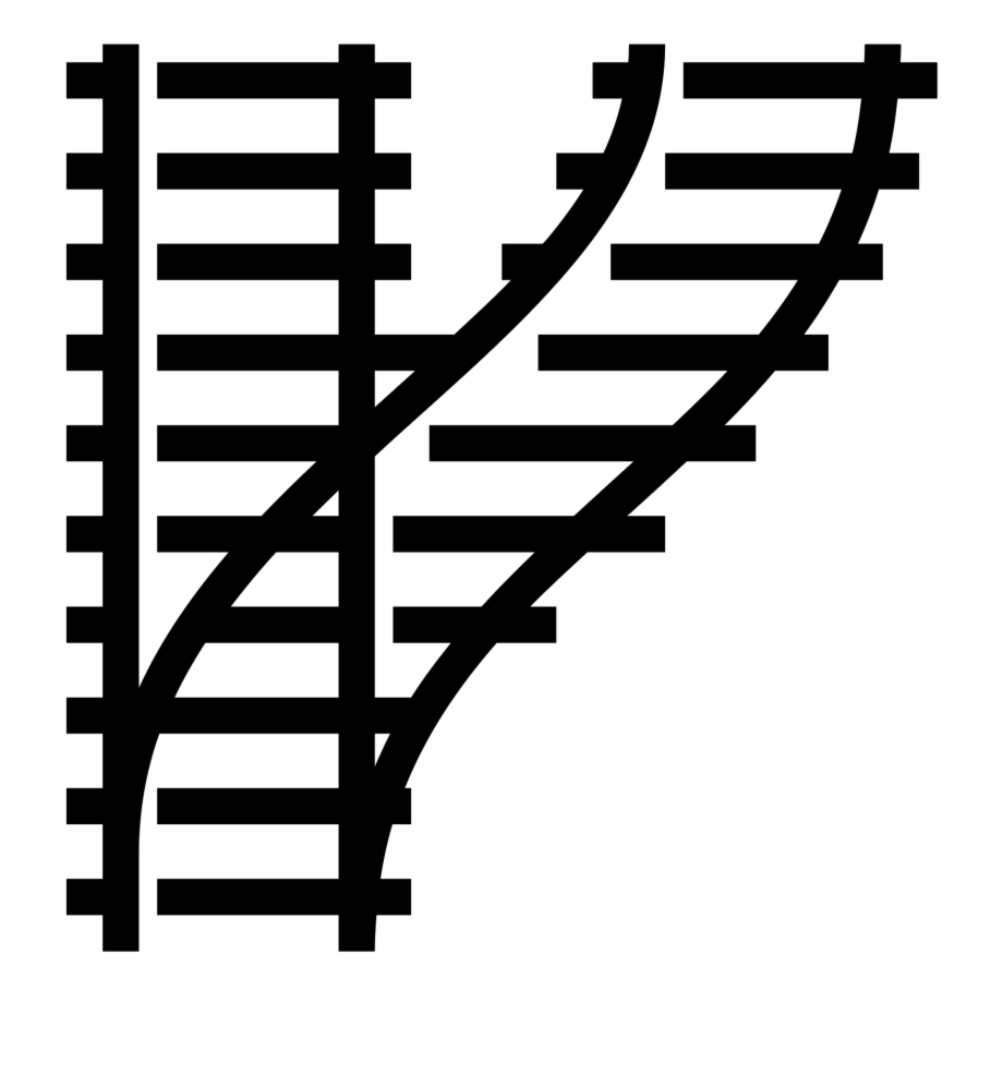 Track Vector - Train Tracks Icon Png Free PNG Images & Clipart ... graphic library stock