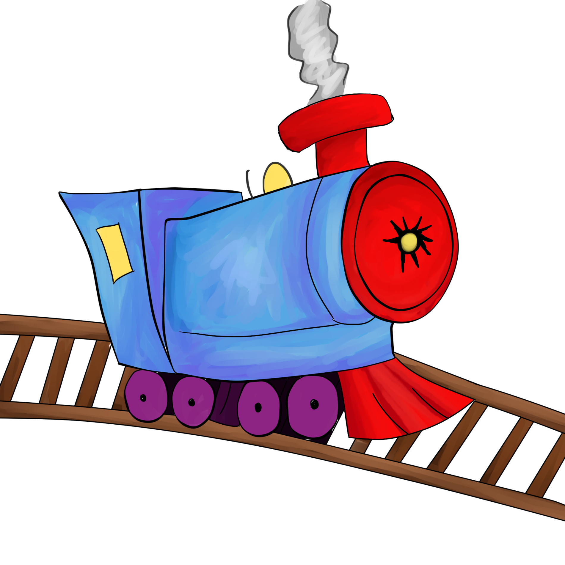 Train Track Clipart | Free download best Train Track Clipart on ... clipart