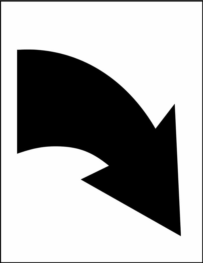 Curved arrow black and white clipart jpg royalty free stock Arrow Curved | Free Download Clip Art | Free Clip Art | on Clipart ... jpg royalty free stock