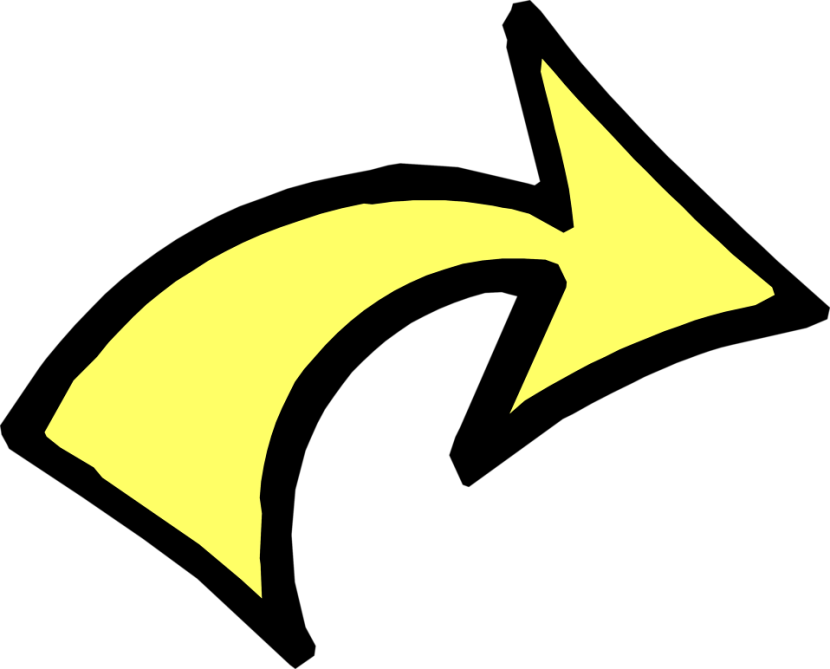 Curved arrow clipart. Best rounded clipartion com