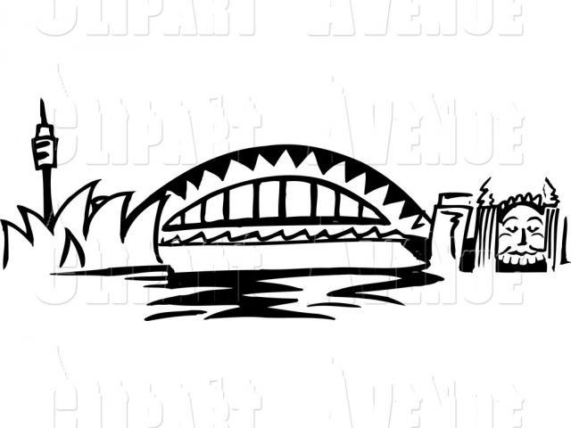 Curved bridge clipart black and white clip art library download Free Bridge Clipart, Download Free Clip Art on Owips.com clip art library download