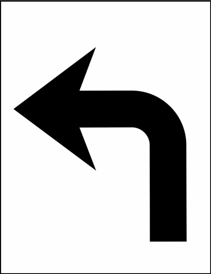 Image free download clip. Curved right arrow sign clipart