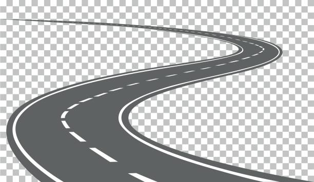 Curved road clipart picture royalty free library Curved road clipart 2 » Clipart Station picture royalty free library