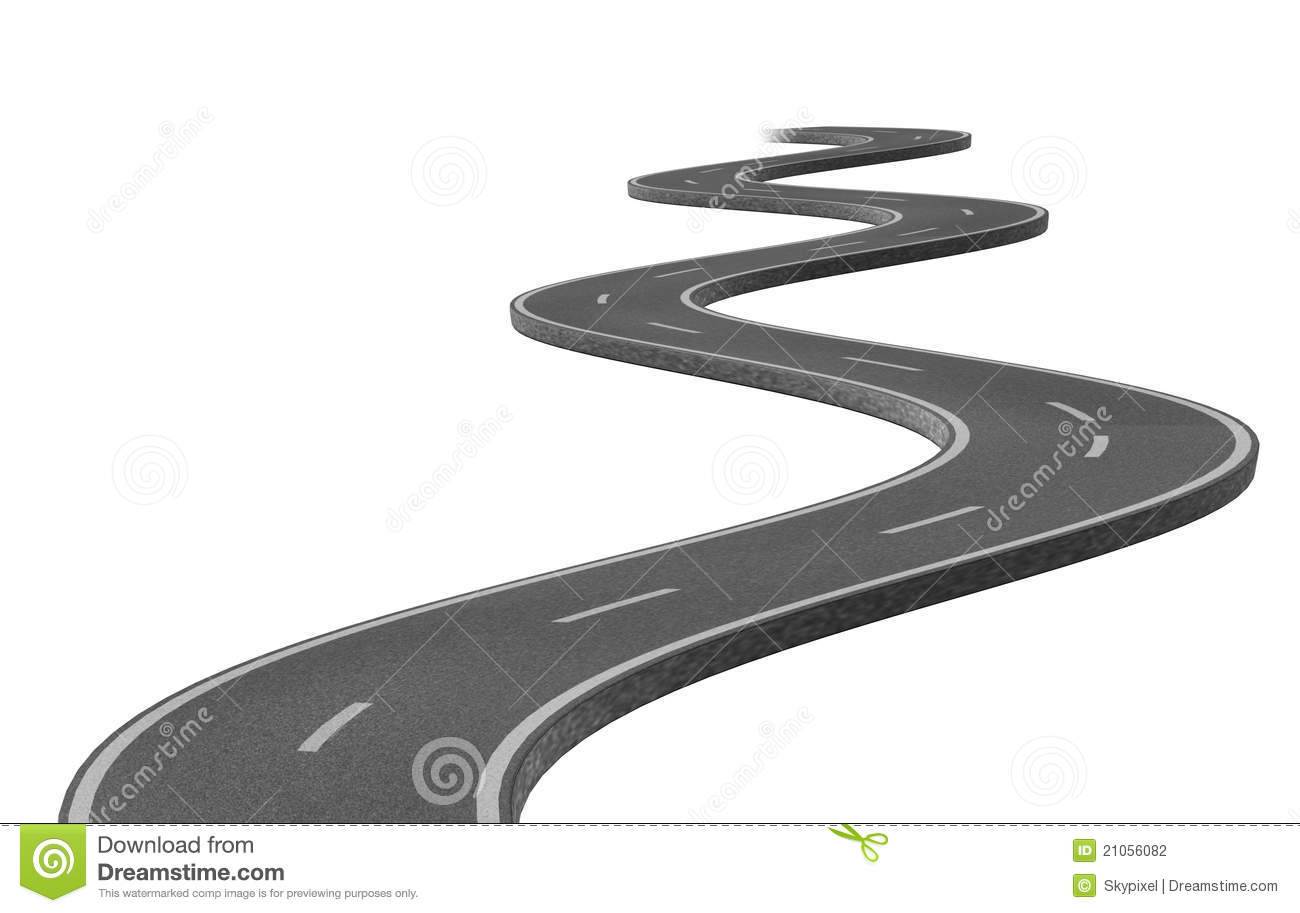 Curved road clipart png png transparent library Curved Road Clipart - Clipart Kid png transparent library