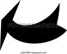 Kid arrows pinterest curving. Curved tribal arrow clipart black and white