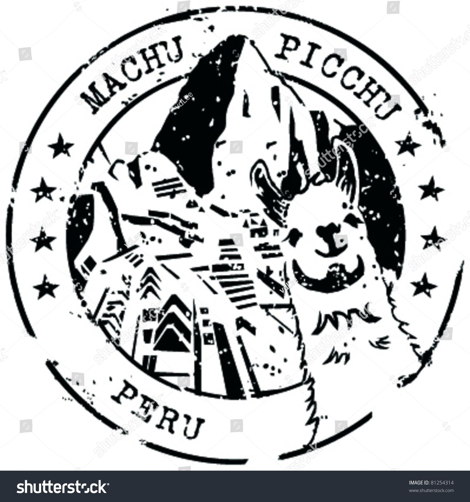 Cusco clipart png free library Stamp Machu Picchu, Peru | Ink Me in 2019 | Peru tattoo ... png free library