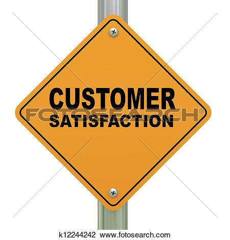 Customer clipart. Stock illustrations of satisfaction