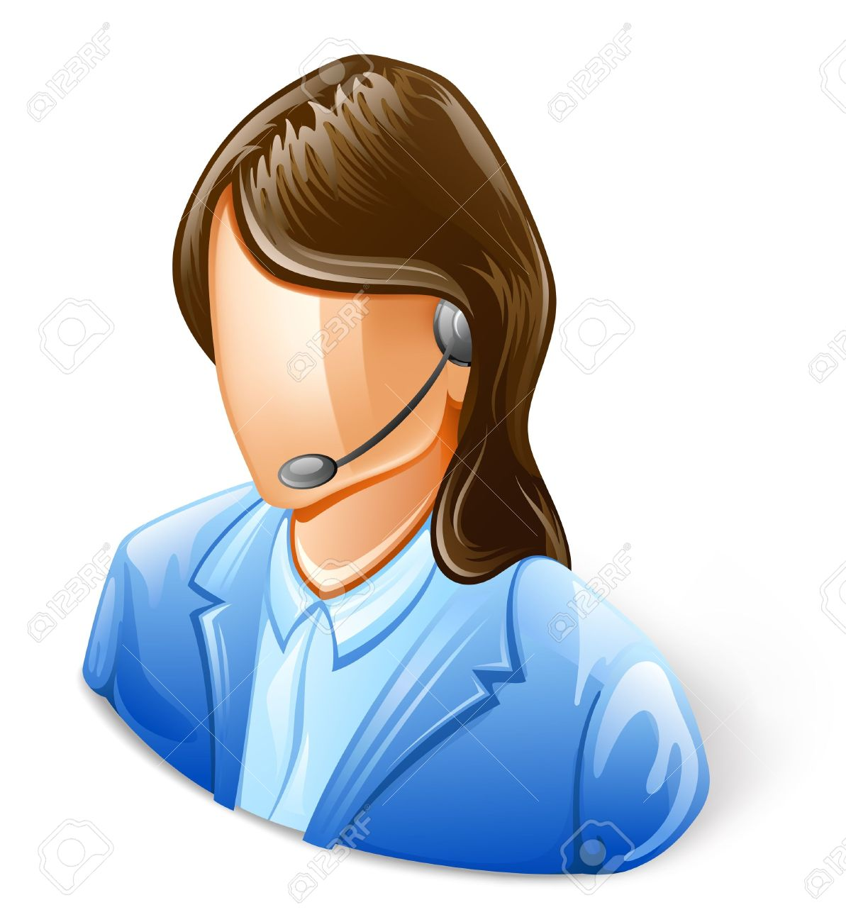 Customer service agent clipart png library stock Customer service representative clipart - ClipartFest png library stock