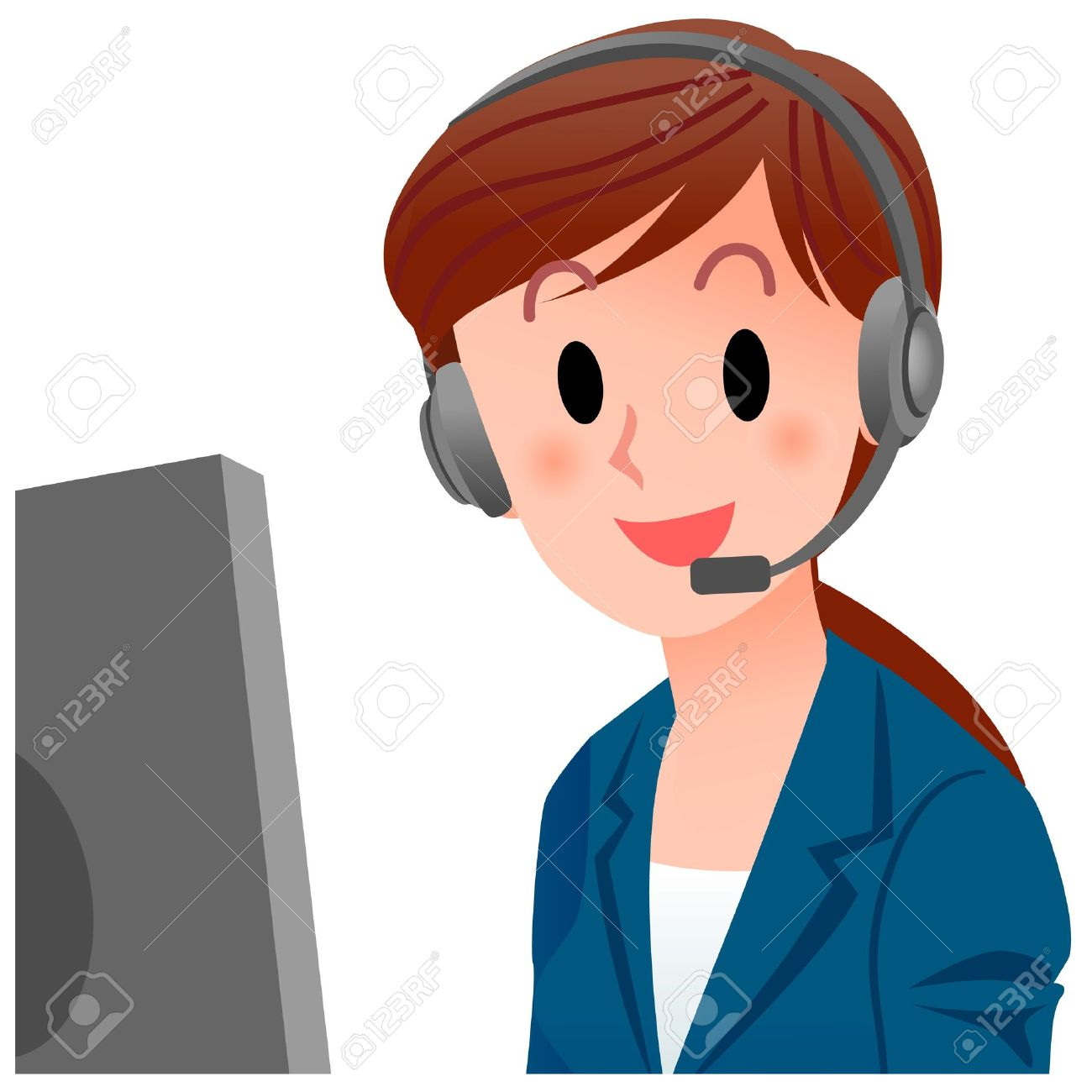 Customer service agent clipart clipart library Customer service agent clipart - ClipartFest clipart library