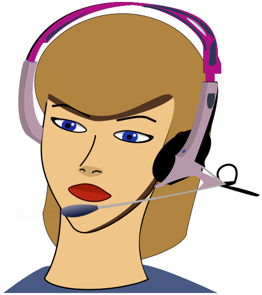 Call center kid. Customer service agent clipart png