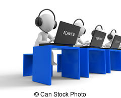 Customer service clipart and graphics clipart black and white library Customer service Stock Illustrations. 59,637 Customer service clip ... clipart black and white library