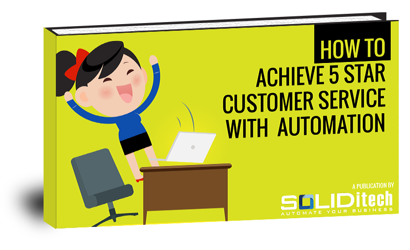 Customer service clipart free image Free ebook | How to Achieve 5 star Customer Service with Automation image