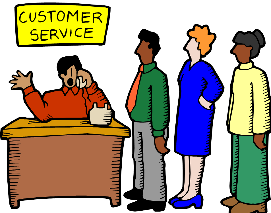 Customer service clipart images. How to use social