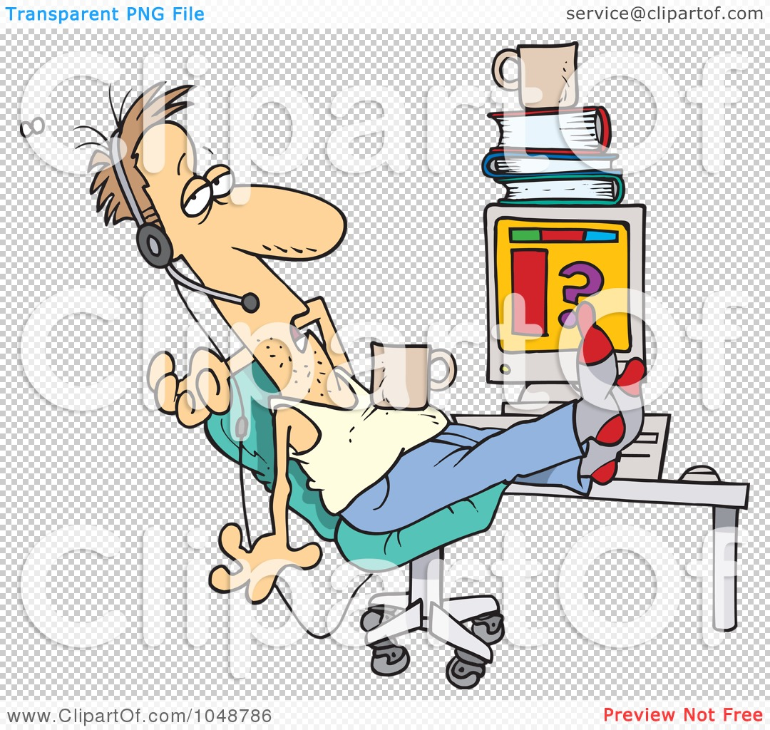 Customer service clipart with transparent background jpg transparent download Royalty-Free (RF) Clip Art Illustration of a Cartoon Disgusting ... jpg transparent download
