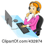 Customer service rep clipart png download Royalty Free Customer Service Representative Illustrations by BNP ... png download