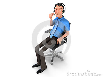 Customer service rep clipart picture transparent download Customer Service Representative Royalty Free Stock Image - Image ... picture transparent download