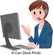 Customer service rep clipart clip art transparent download Customer service representative Stock Illustrations. 2,368 ... clip art transparent download
