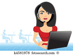 Customer service representative clipart clipart freeuse download Customer service representative Illustrations and Stock Art. 871 ... clipart freeuse download