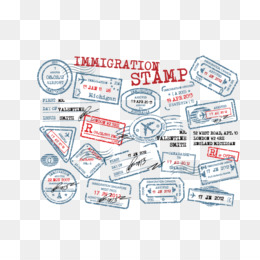 Customs at airport signage clipart stamp passport clip black and white Passports clipart border for free download and use images in ... clip black and white