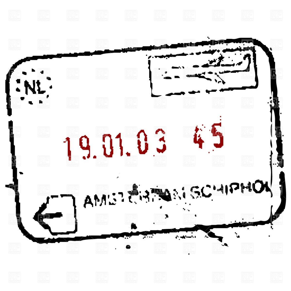 Customs at airport signage clipart stamp passport clipart royalty free stock Passport Stamp Vector at GetDrawings.com | Free for personal ... clipart royalty free stock
