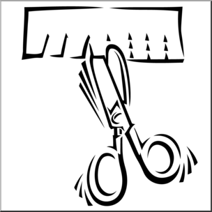 Snip clipart jpg freeuse library Black And White Scissors Clipart | Free download best Black And ... jpg freeuse library