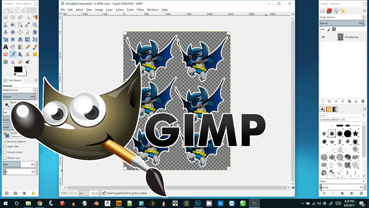 Cut cliparts on gimp picture free GIMP Tutorial: Curve Text And Objects With Cage Transform - GI - 843 ... picture free