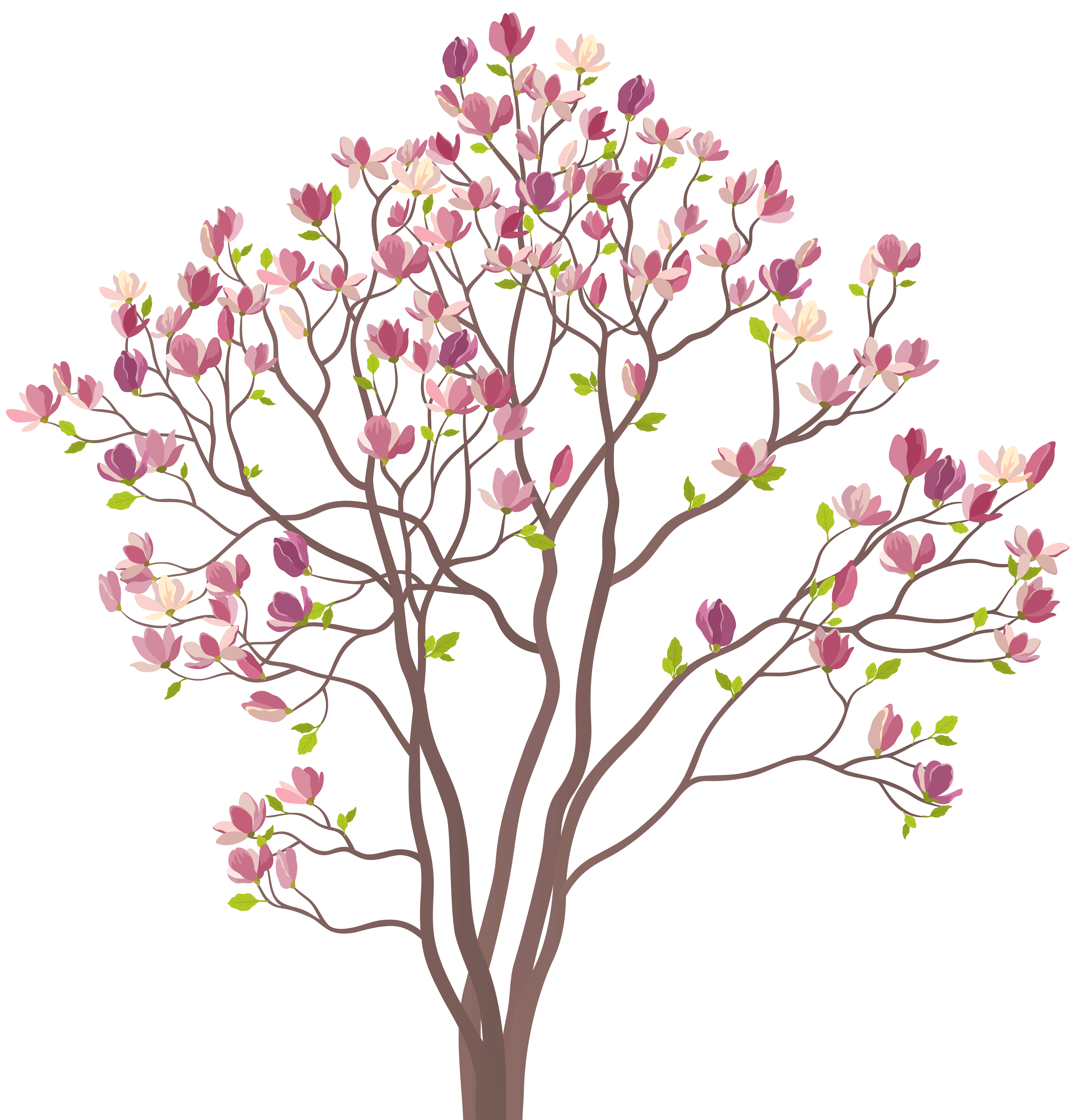 Cut tree clipart svg library library Mmagnolia Tree PNG Clip Art Image | Gallery Yopriceville - High ... svg library library