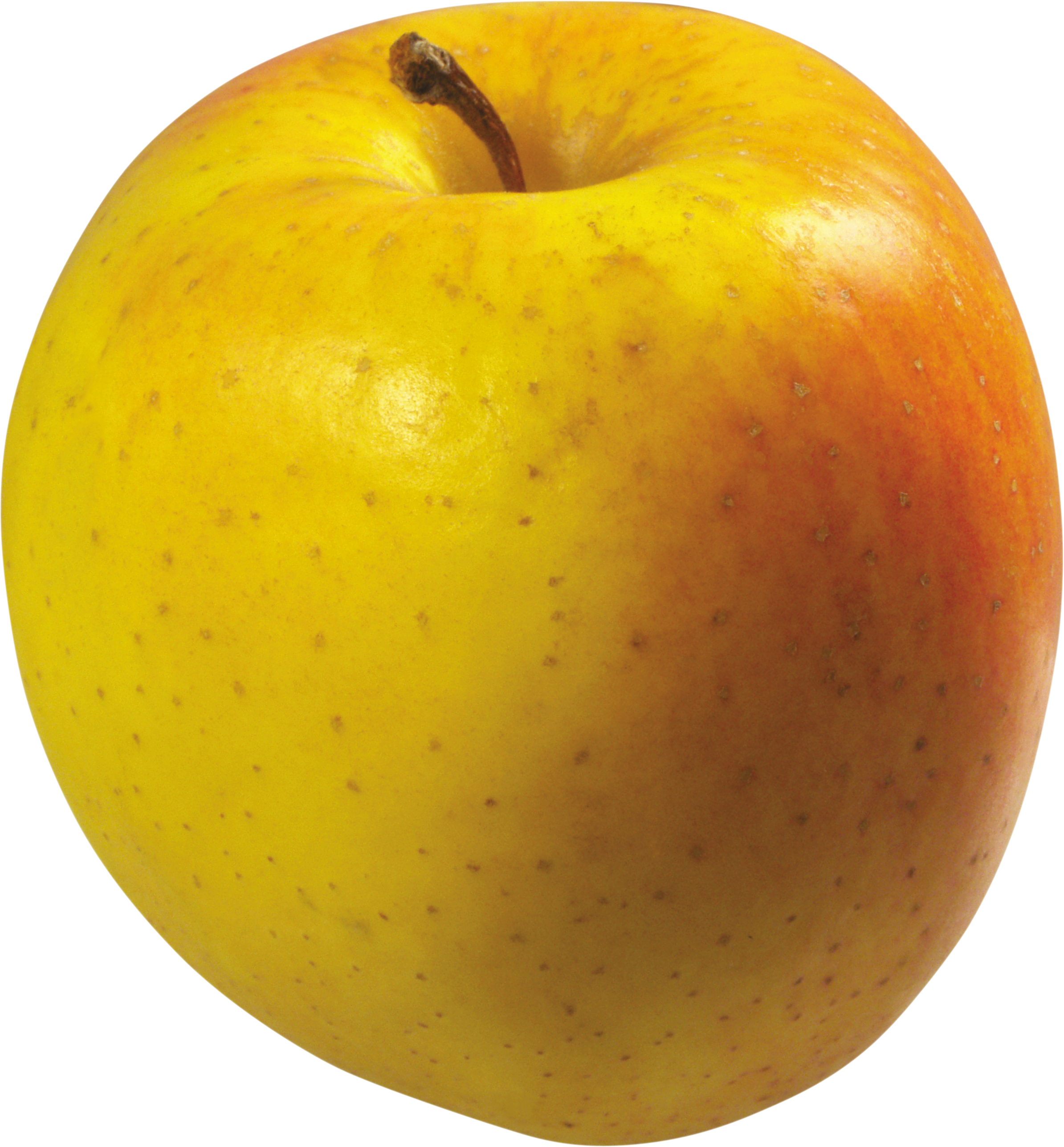 Golden delicious apple fruit clipart graphic free stock Yellow Apple PNG Image - PurePNG | Free transparent CC0 PNG Image ... graphic free stock