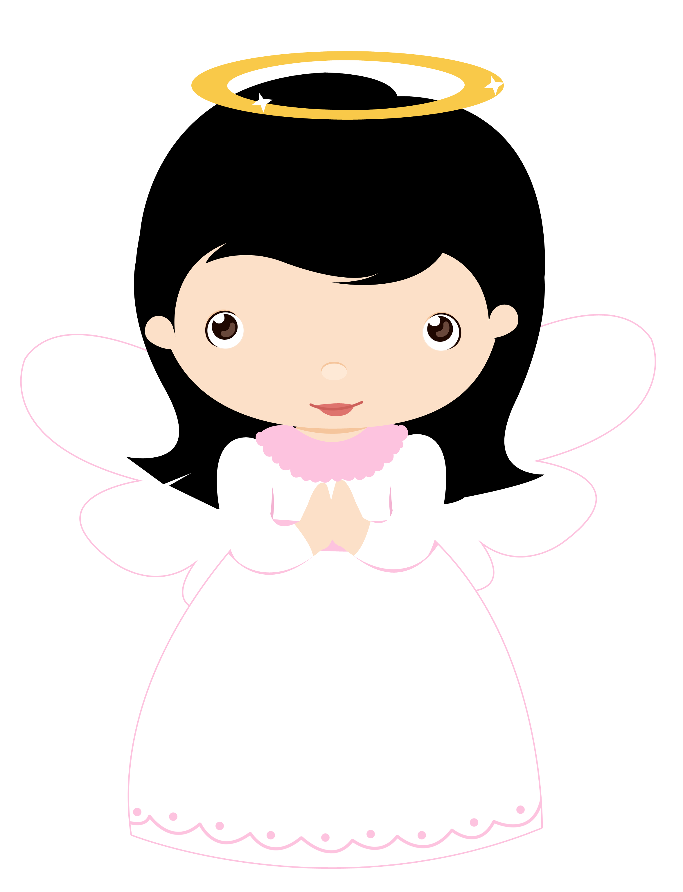Cute angel with snowflake clipart clipart library library Little Angels (Girls) - CAT_Little Angels (Girls) 21.png - Minus ... clipart library library