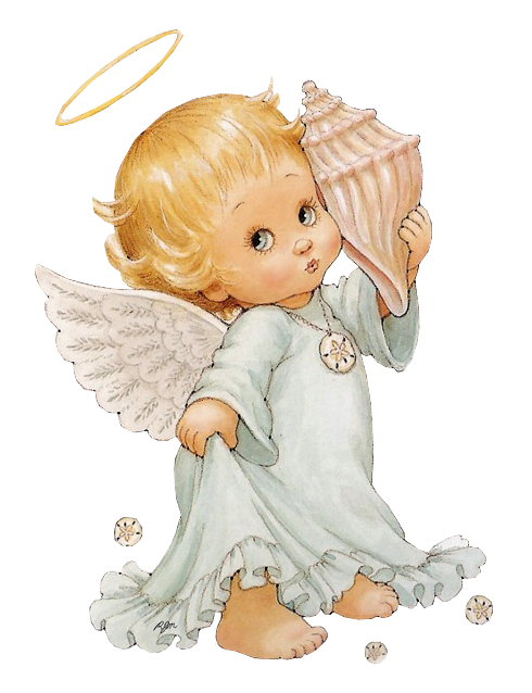 Cute angel with snowflake clipart png freeuse Cute Little Angel with Shell | ✍✄Printables✄✍ | Pinterest ... png freeuse