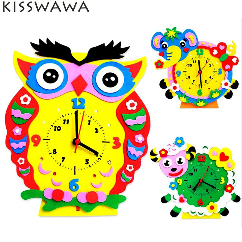 Cute animal with clock clipart png royalty free stock Compare Prices on Clock Model Kit- Online Shopping/Buy Low Price ... png royalty free stock