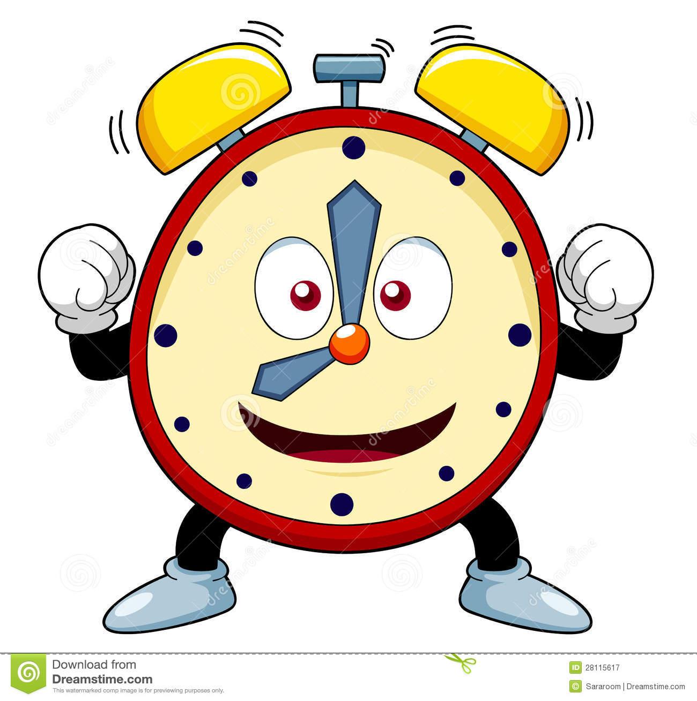 Cute animal with clock clipart. Clipartfest cartoon alarm