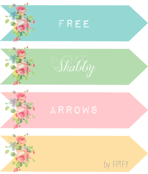 Cute arrow vintage clipart svg royalty free stock Free Vintage Digital Rose Arrows and Wreaths - Free Pretty Things ... svg royalty free stock