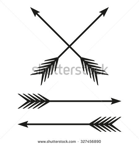 Cute arrow vintage clipart. Clipartfest bow isolated on