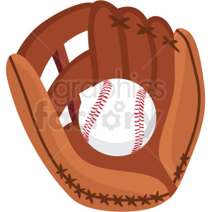 Cute baby clipart baseball mitt and ball transparent back vector freeuse library baseball and glove vector clipart no background . Royalty-free clipart #  409509 vector freeuse library