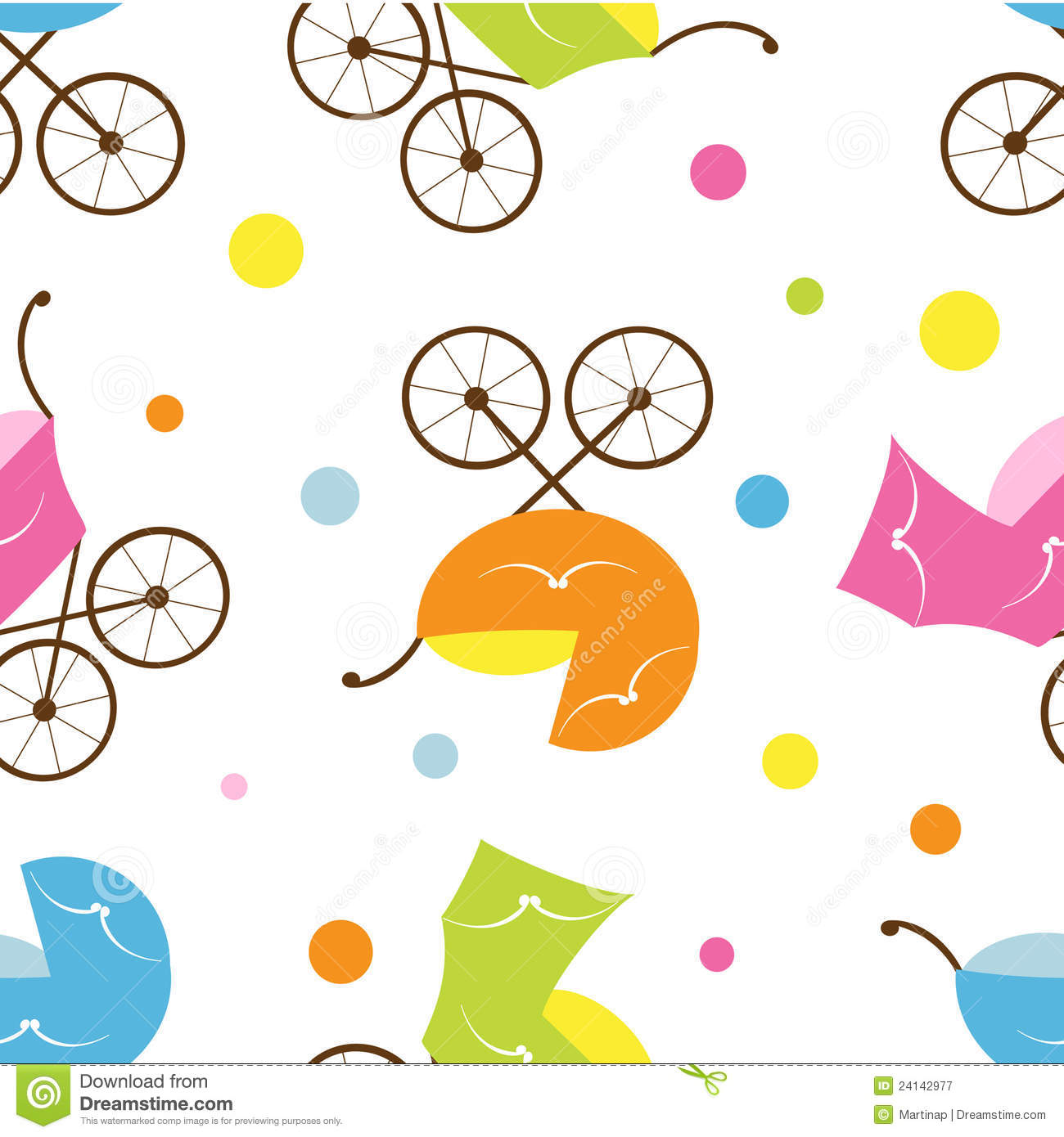 Cute baby clipart patterns picture library Cute Baby Seamless Pattern Royalty Free Stock Photography - Image ... picture library