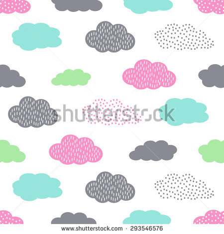 Cute baby clipart patterns picture library library Cute Baby Pattern Stock Photos, Royalty-Free Images & Vectors ... picture library library