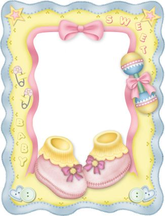 Cute baby storybook frame clipart graphic freeuse library 17 Best images about Baby Digis on Pinterest | Baby girls, Clip ... graphic freeuse library