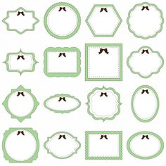 Cute baby storybook frame clipart picture transparent stock 25 Circle Frames Clip Art, Round Frame Clip Art, Digital Graphics ... picture transparent stock