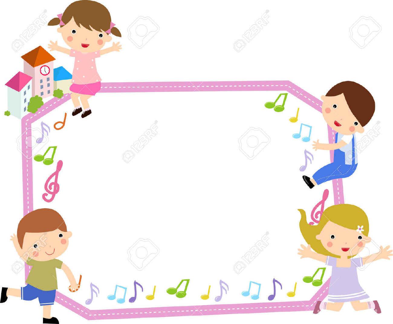 Cute baby storybook frame clipart image transparent download Cute school clipart frame - ClipartFox image transparent download