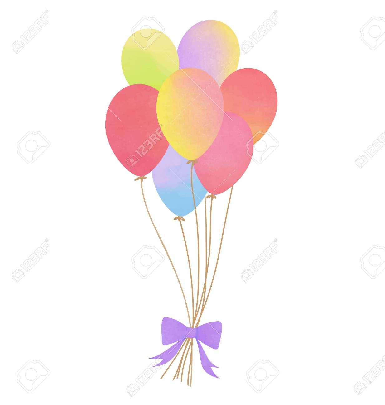 Cute balloon clipart picture free stock Cute Balloon Cliparts - Making-The-Web.com picture free stock